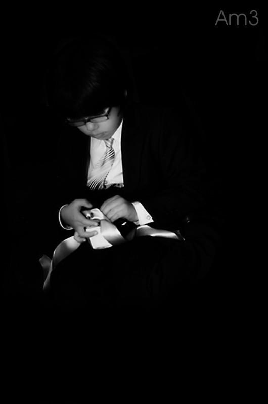 Boy and Ribbon...