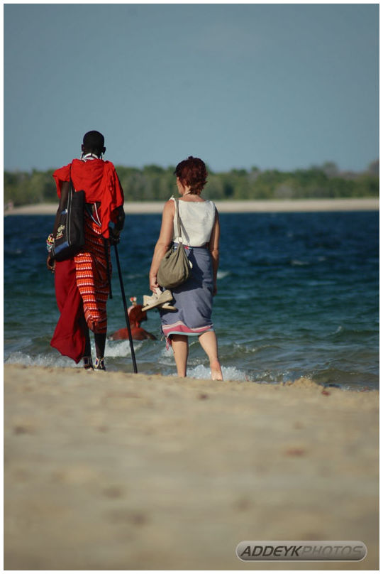 The Masai and the Tourist...