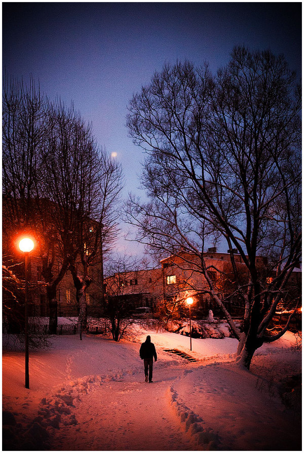 Polish Evening #5: Lone Walk Home...