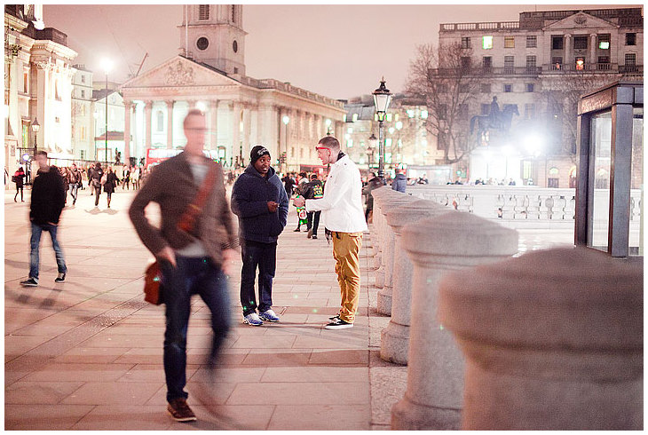 Evening in Central London...2