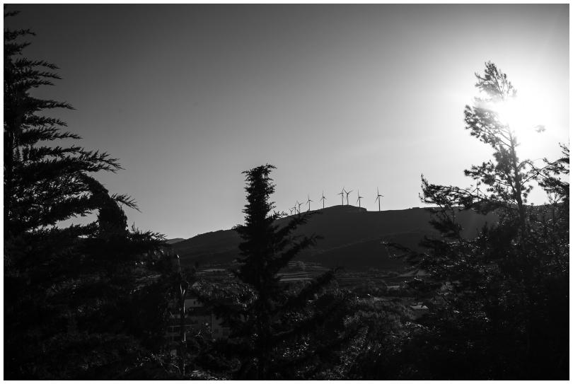 Wind farm, Monte Blanc, Spain