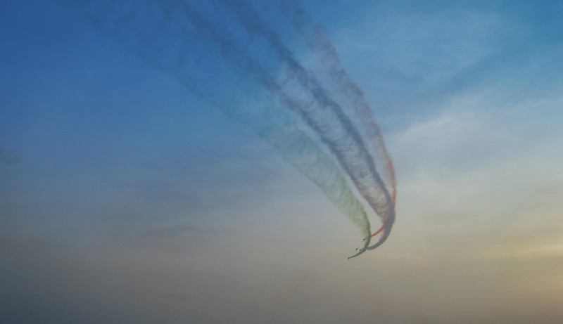 Air Show in Navy Mela