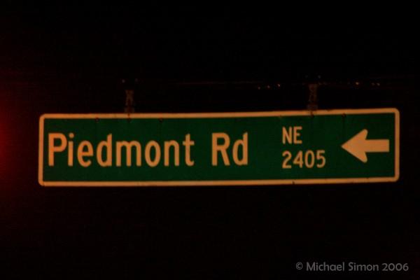 Piedmont Rd