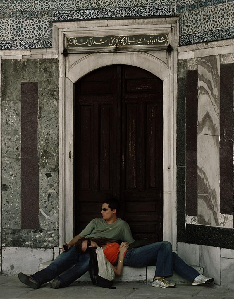 At the Sultan's Door