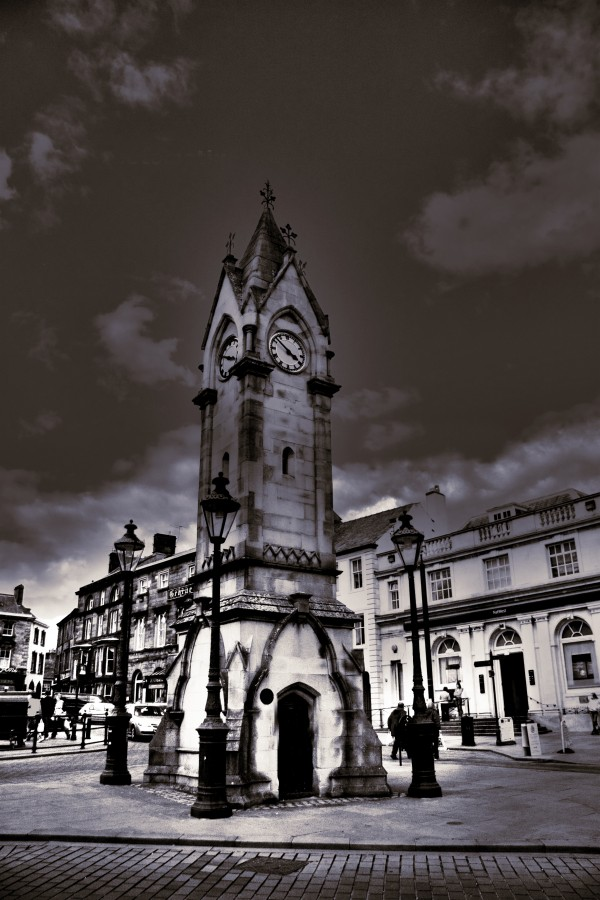 The Halo'd Clock Tower