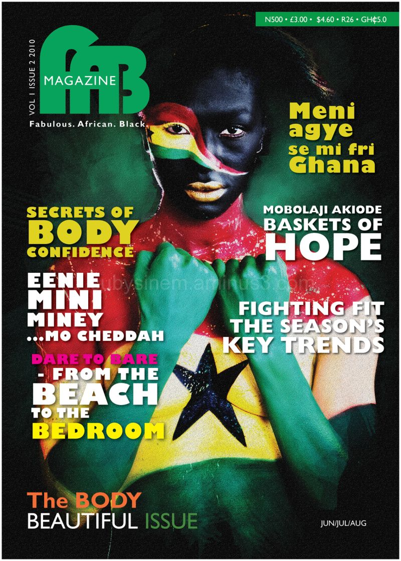 Fab Magazine Female Issue 2 cover