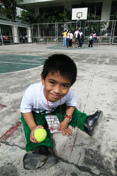Karlo in the basketball court