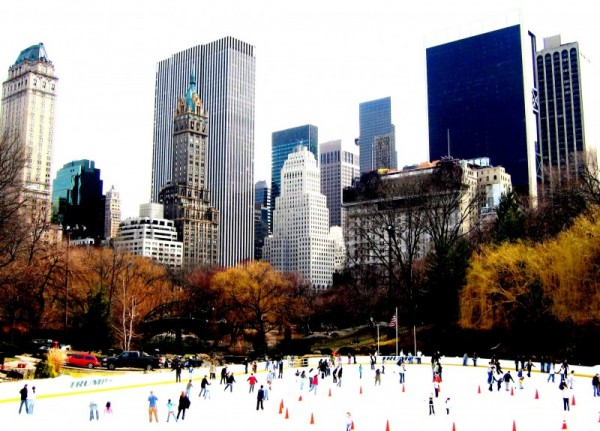 Skating in Central Park (New York)