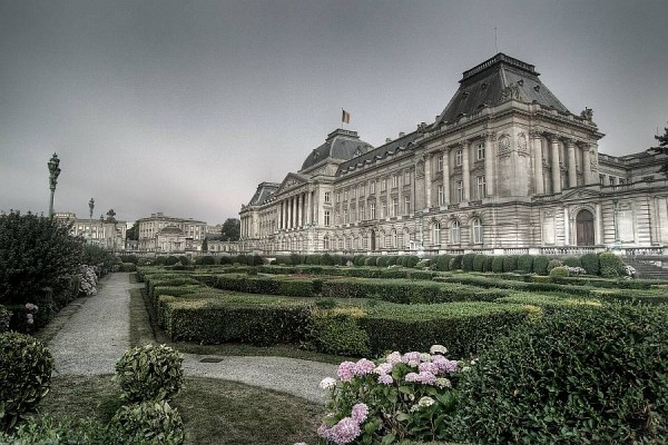 royal palace brussels hdr