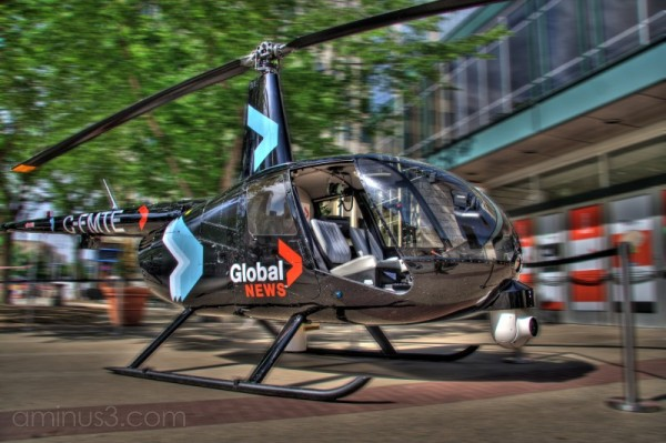 Global Television's new Edmonton helicopter