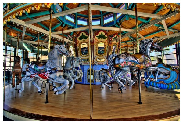 Carousel at Ft. Edmonton