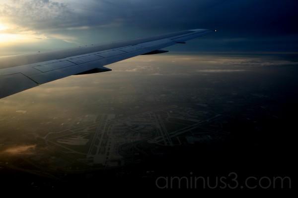 Approaching O'Hare