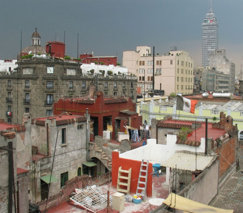 Storm Clouds over México City