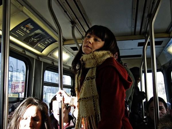 Daydreaming on the College Streetcar