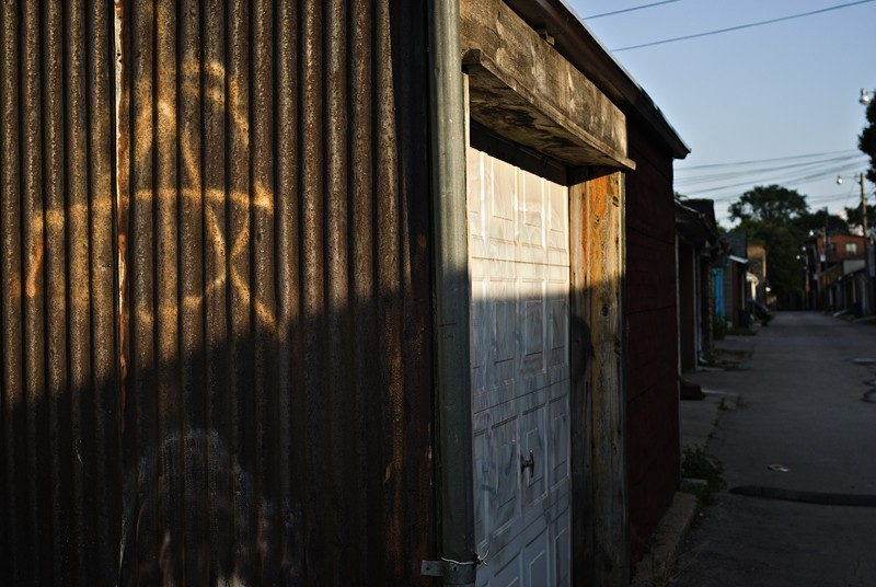 Anarchy in the back alley