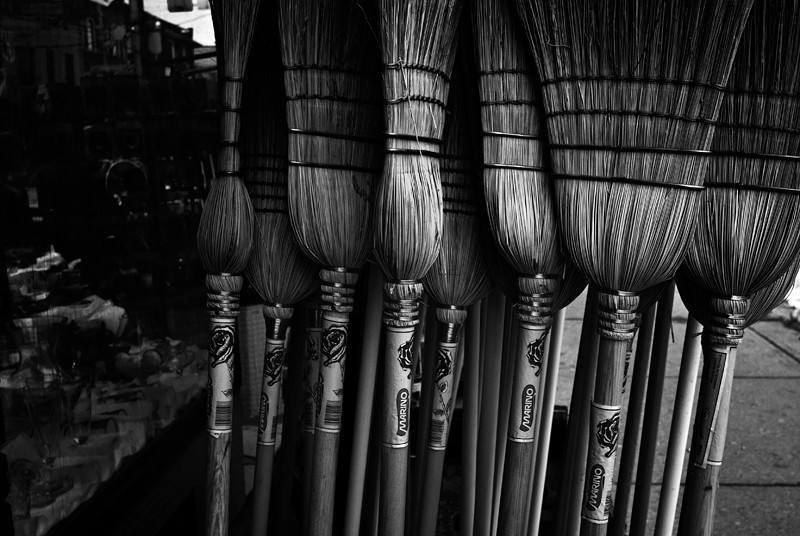 Broom Soldiers