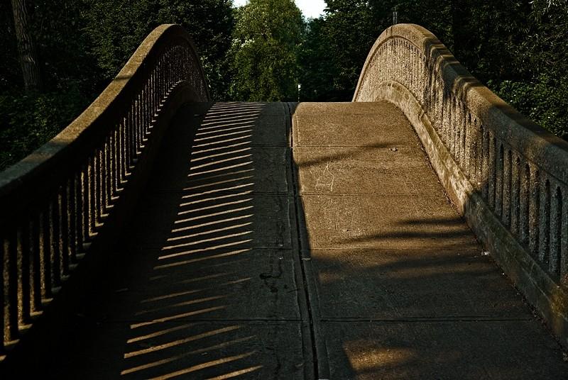Bridge to Olympic Island