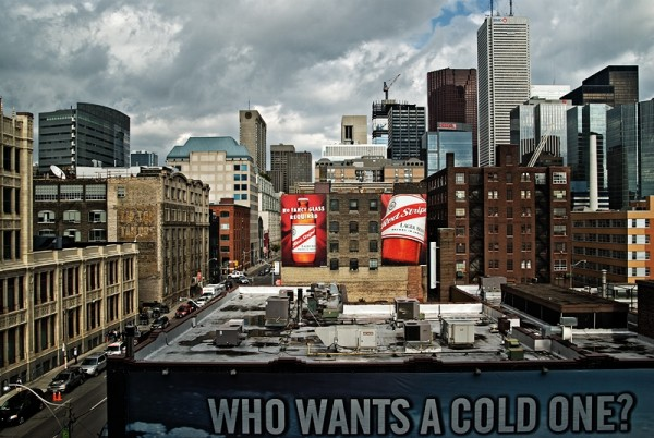 The City as Beer Ad