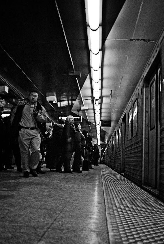 Racing the train