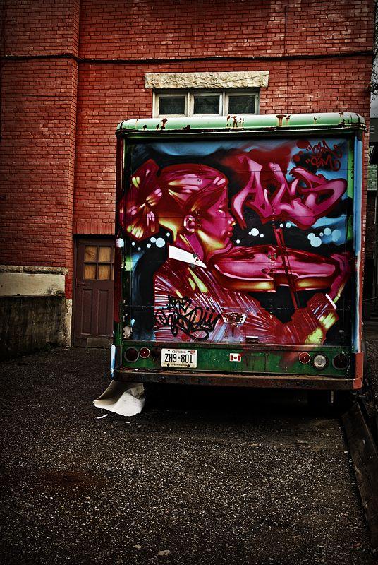 Fiddler Delivery Truck