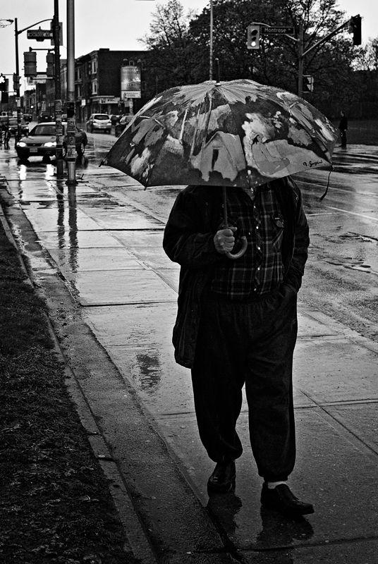 Gauguin dans la pluie