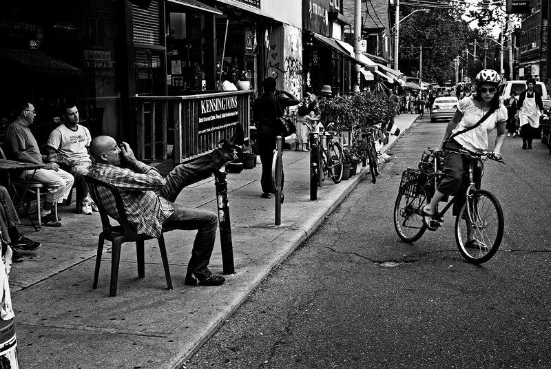 People-Watching in Kensington Market