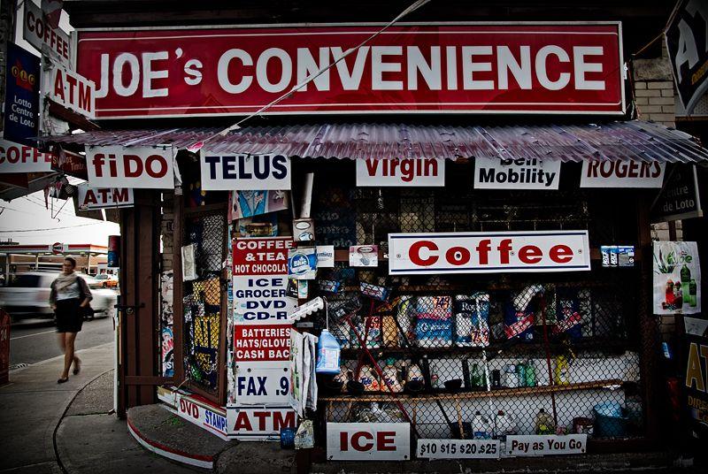 At Joe's Convenience