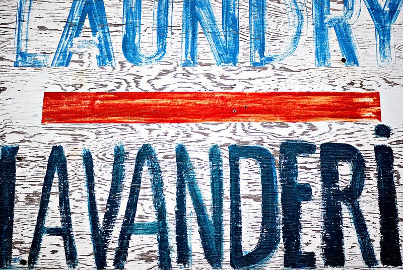 Laundry | Lavanderia