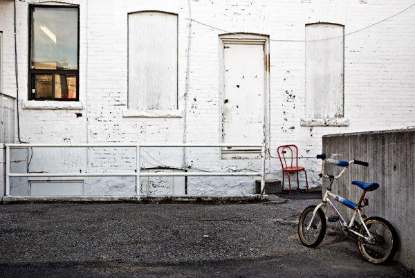 Big Bike / Small Seat