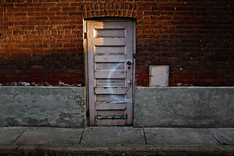 You take pictures of doors