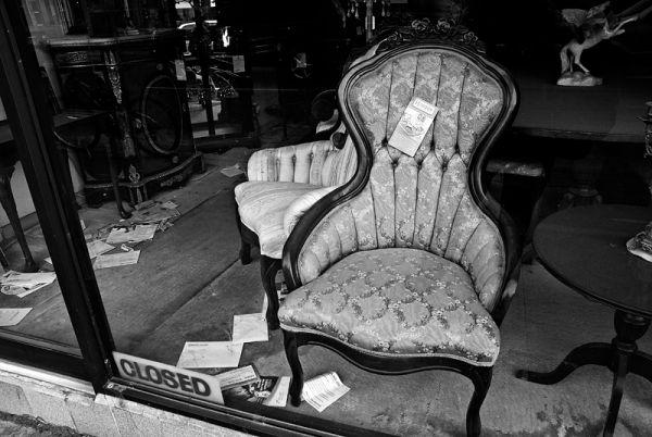 Dusty Furniture and Unpaid Bills