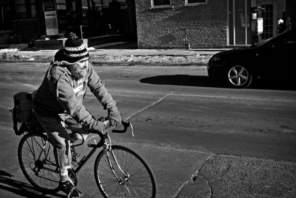 Riding out the last days of winter