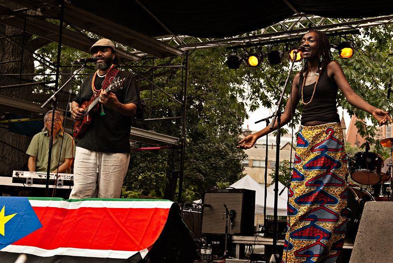 Celebrating the birth of South Sudan