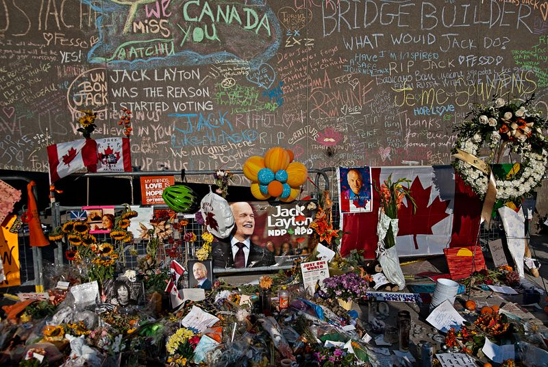 Jack Layton's Shrine