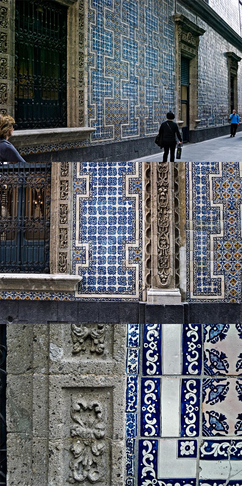 La casa de azulejos