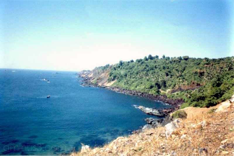 Bat Island off Vasco-da-gama, Goa