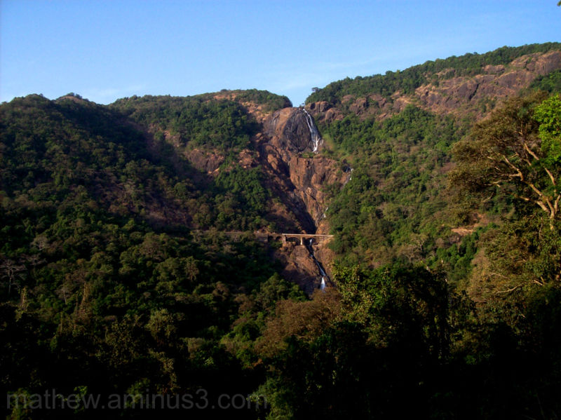 Dudh Sagar Waterfall, Karnataka, India