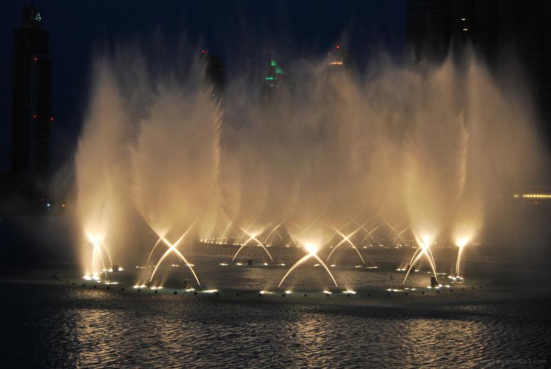 Musical Fountain burj khalifa