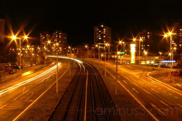 Lights,tram,ostrava