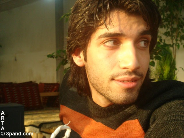 saeed bandari's self portrait