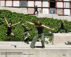 Group Dance Shoot by Ella Cooper