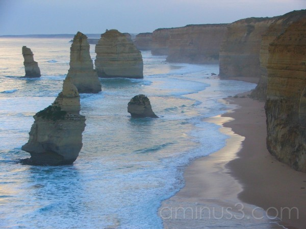beach, apostles, coast