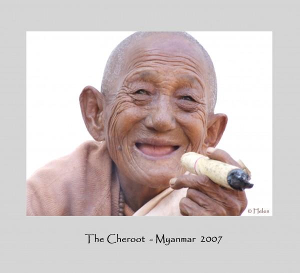 Myanmar series - Portrait 1