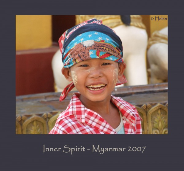 Myanmar series - Portrait #5