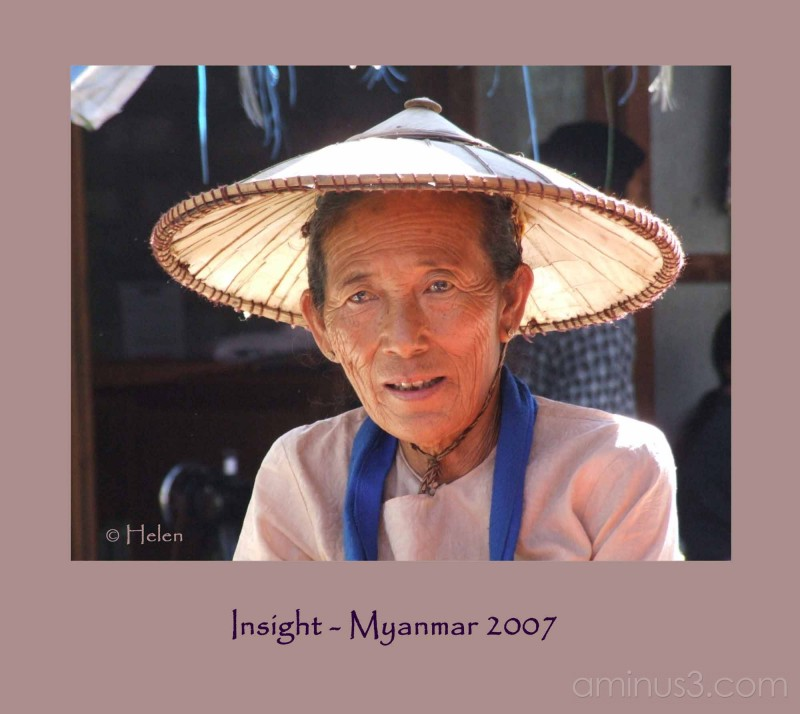 Myanmar series - Portrait #6