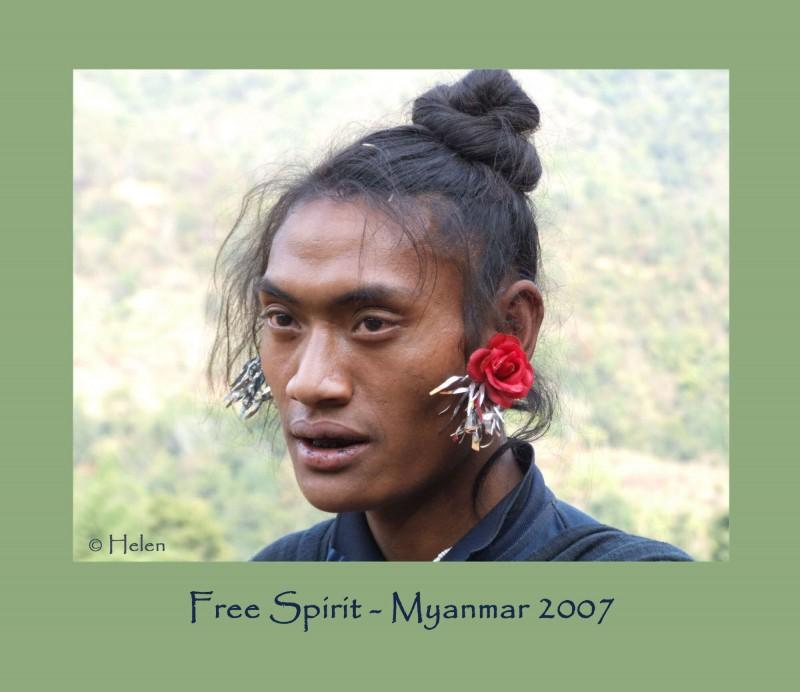 Myanmar series - Portrait #8