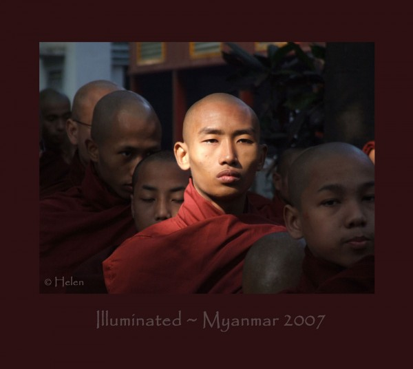 Myanmar series - Portrait #9