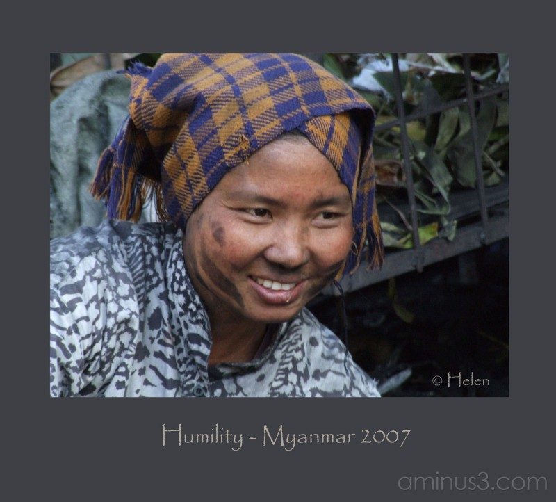 Myanmar series - Portrait #12