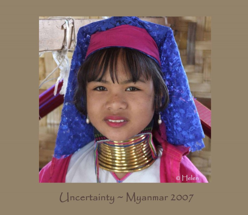 Myanmar series - Portrait #13