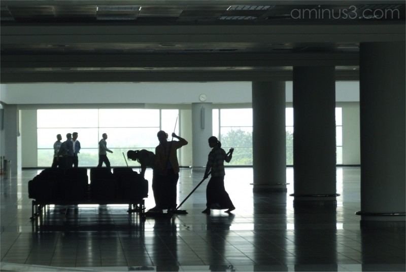 Dance of the Airport Cleaners